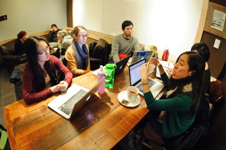 Senior-thesis writing group