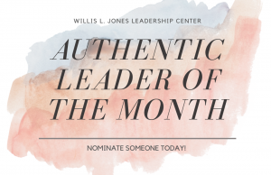 Authentic Leader of the Month Graphic